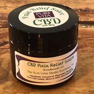 CBD pain relief salve photo