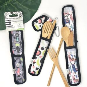 Bamboo Utensil Kit